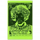 1968 Jimi Hendrix Experience Concert Mini Poster, Denver- Reproduction 11x17