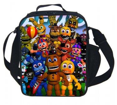 FNAF Five Nights at Freddy's New Lunchbox Plush School Bag Lunch box figure 1