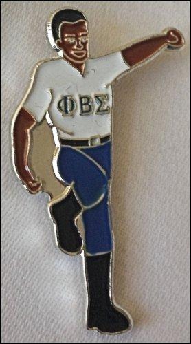 Phi Beta Sigma Fraternity Stepper Lapel Pin