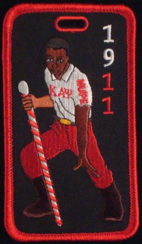 Kappa Alpha Psi  Fraternity Stepper Embroidered Luggage Tag
