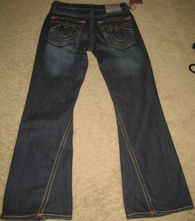Men's True Religion Jeans SUPER T BILLY size 32x34
