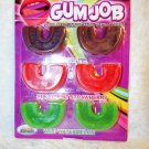 Oral Gum Job Gummy Candy Teeth Covers Unisex Flavored Low Carb Smooth Tasty