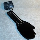 Faux Leather Black Hand Paddle Spanker Hand Held Limited Edition