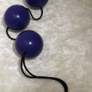 Purple Kegel Ben Wa Balls Geisha Triple Trainer Strengthen  Muscles Excercise