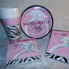 Bachelorette Sassy & Sweet Party Plates Napkins Cups Invitations