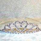 Heart Rhinestone Tiara Crown Headband Birthday Bridal Wedding Dress Up