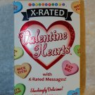 Edible Candy Valentine Hearts X-Rated Messages Eat Me And More 1.6oz Box