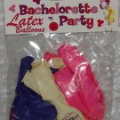 Bachelorette Party Latex Balloons 12 in pack