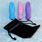 Mini Travel Size Massager 5 Function Speed Medical Grade Silicone Temples Neck
