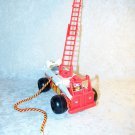 Fisher Price Fire Engine Pull Toy Orange Ladder