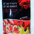 O' So Tasty O' So Sweet neutralize smell taste sweat semen Femanine arousal