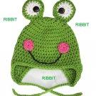 Crochey Frogs Hat