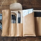 Handmade Leather Sketchbook case Art supplies case Pencil case Leather journal Drawing supplies