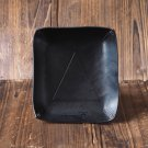 Handmade Leather Valet Tray Letter tray Desk tray Vanity tray Personalized gifts #Black