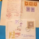 Stamps from Poland circa 1985-1989