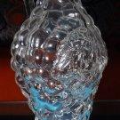 Original glass bottle with grape design - 2003