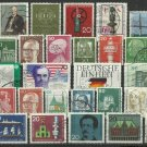 Collection of 32 German stamps - 1840-1970