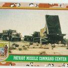 1991 Desert Storm (Topps) #77 Patriot Missile Command Center