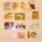 Poland stamps 1972-1976 + BONUS