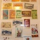 Africa Mint set of stamps + BONUS