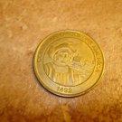 1999 Brass Sunoco Millennium Coin Series Token Columbus Discovers America