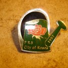 PRS City of roses 1997 all metal pin back pin.