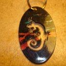 All metal Salamander Key Chain