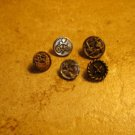 Lot of 5 antique picture buttons 2.