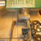 Vintage Universal Food & Meat Chopper #2 complete in original box
