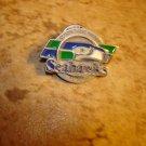Season ticket holder Seahawks 1999 Limited Edition pin back pin.