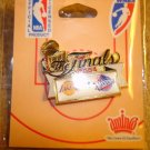 Official 2004 The Finals Lakers vs Pistons pin badge.