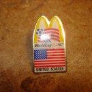 World cup USA 1994 United States Mc Donalds football soccer pin badge.