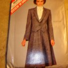 McCall's Stitch N Save 8641 Womens skirt & blazer Vintage Pattern Sz B 12-14-16