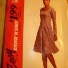 McCall's Stitch N Save 5788 Womens summer dress Vintage Pattern Sz B 12-14-16