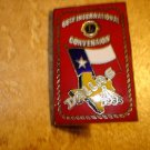 Lions Club 68th International Convention Dallas 1985 pin back pin.