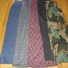 Lot of 5 longer women's skirts size 10