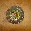 Large metal advertising button for Washburn Crosby Gold medal flour.