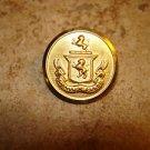 Spectamur Agendo gold metal military button.