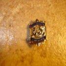 All County Chorus gold tone metal brooch pin
