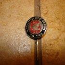 Vintage Glashutter sport Verein 1924 all metal soccer stick pin badge.
