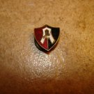 Vintage Atalante F.C. Mexico all metal screw on soccer pin badge.