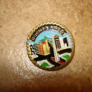 Buenos Aires all metal brooch pin badge.