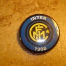 Inter Milan FC Football Soccer Club Official Metal Button Badge.