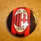 AC Milan FC Football Soccer Club Official Metal Button Badge.