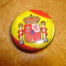 Spain Assotiacion FC Football Soccer Club Official Metal Button Badge.