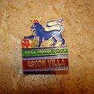 Aston Vila The F.A. Premier League all metal soccer pin badge.