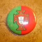 Portugal Foodball Federation Football Soccer Club Official Metal Button Badge.