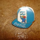 World cup soccer France 1998 Argentina Coca Cola pin badge.