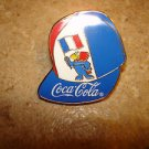 World cup soccer France 1998 Coca Cola France pin badge.
