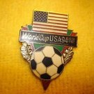 World cup soccer 1994 USA  football badge pin offered by MTH